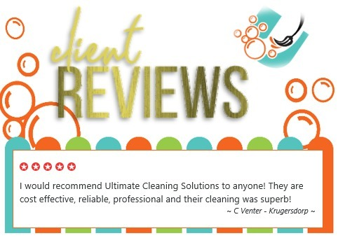 Ultimate Cleaning Review - Krugersdorp