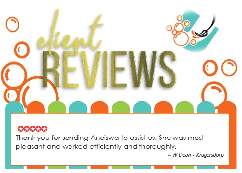 Review - W Dean in Krugersdorp