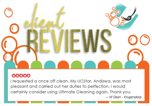 Cleaning Review - W Dean in Krugersdorp